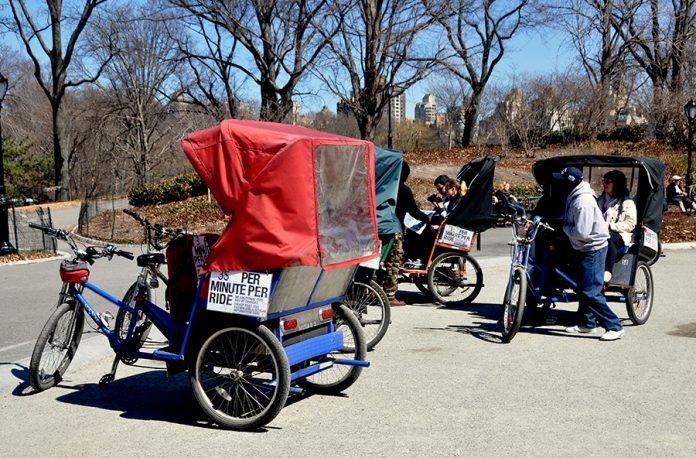 vélos-taxis